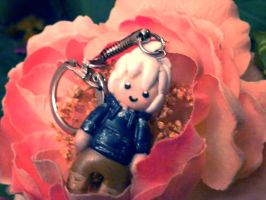 Jack Frost polymer clay by Code-hearts