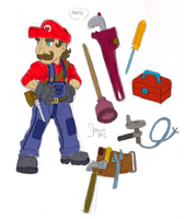 My Super Mario Brothers Redesign 2 by LukeLlenroc