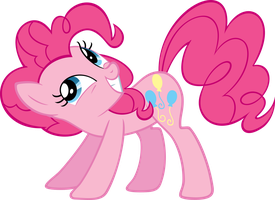 Pinkie Pie Again by MoongazePonies
