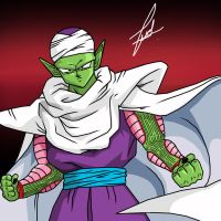 Piccolo painting by rehash435