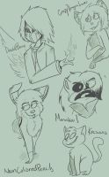 SKETCH REQUESTS by FailTaco