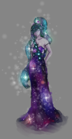 Galaxy Princess - Formal by MelodicArtist