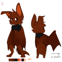 Fursona Mini Ref 2013 by rah742