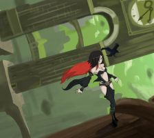 Gravity Rush - Raven by ShadeEXE