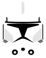 Clone Trooper Helmet Variant 2 by PD-Black-Dragon