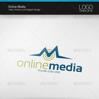 Online Media Logo by artnook