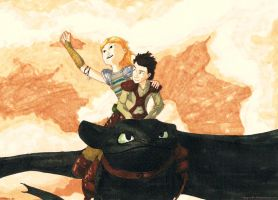 HTTYD? Fly by kayoche