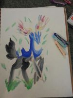 Pastel Xerneas by xMaikoWolfx