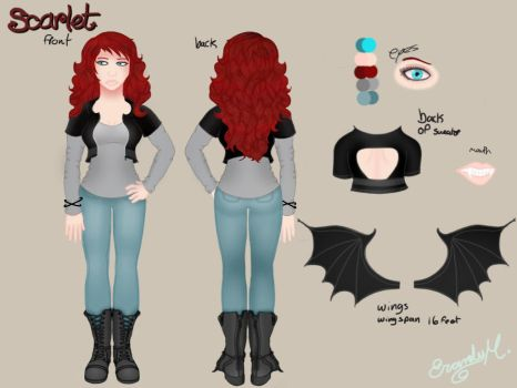 Scarlet reference sheet  by Andy-Aria