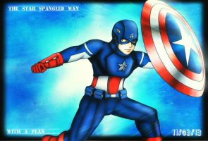 The Star Spangled Man with a Plan by BlizzardCaster