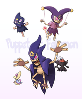 Commish - Puppeteer Fakemon by EstevaoPB