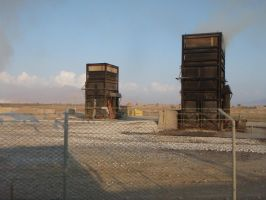 The Towers of Bagram by Bigbenhoward