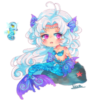 Chibi commish for Wingsie by KyouKaraa