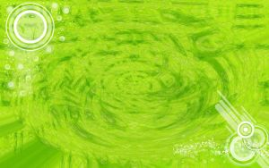 Green Abstract Wallpaper by KrisPS