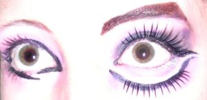 illamasqua flick and lashes by Evil-elz