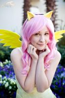 SukoshiCon Destin - My Little Pony: Fluttershy by elysiagriffin
