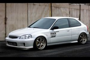Honda Civic JDM by Narigato