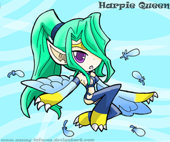 Harpie Queen by snowy-inferno