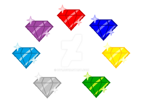 Chaos Emeralds by Icyi