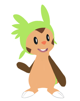 Chespin by CH33ZUS