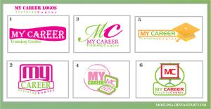 my career logos by moslima