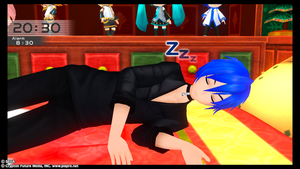 Awwwww, Kaito Is Sleeping by Levi-Ackerman-Heicho