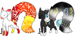 Lyric Based Adopts  Auction by Doggirl2626