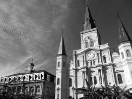 St Louis Cathedral 3 by Boofunk