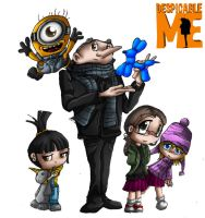 Despicable ME by TheOctoberScarf