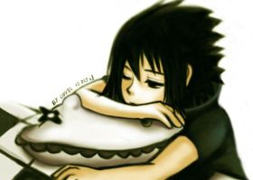 little sasuke 02 - sleepy by CoyeL