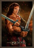 CONAN THE BARBARIAN by rocketraygun
