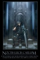 Noctis Demotivational Poster by TheFavs