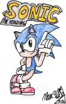 Sonic The Hedgehog by MarxArtCo