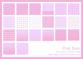 250 Pink Dots by Tigers-stock
