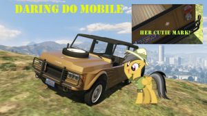 Daring Do mobile by GeneralThunderbat