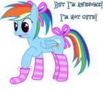 I'm Not Cute by joeyh3