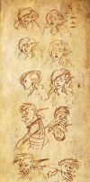 Hequiti and Maderazka Expressions by Anamaris