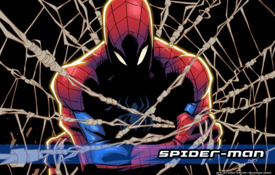 All webbed up wallpaper by JoeyVazquez