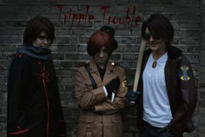 Tripple Trouble by BeyondBlackMountains
