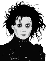 Edward Scissorhands by cskellington