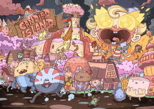 Flapjack Time: Wellcome to Candied Island!!! by lost-angel-less