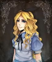 alice potrait by Bejowish