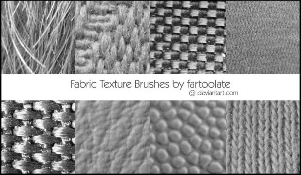 Fabric Texture Brushes by fartoolate