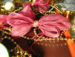 Red bow by Anita-dragon-fly