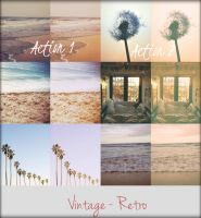 Vintage - Retro 2 Actions PACK by Panyagua