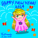 Happy New Year 2014 by THEAIMANDPS