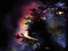 The Douglas Fir Nebula by NightsongWS