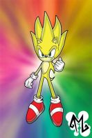 Super Chaos - Sonic by cartoonist4eternity