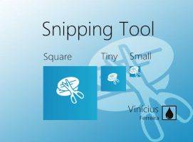 Microsoft Snipping Tool tiles for oblytile. by VCFerreira