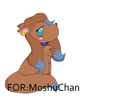 A Dog for MoshuChan !!! by snoopyluver5